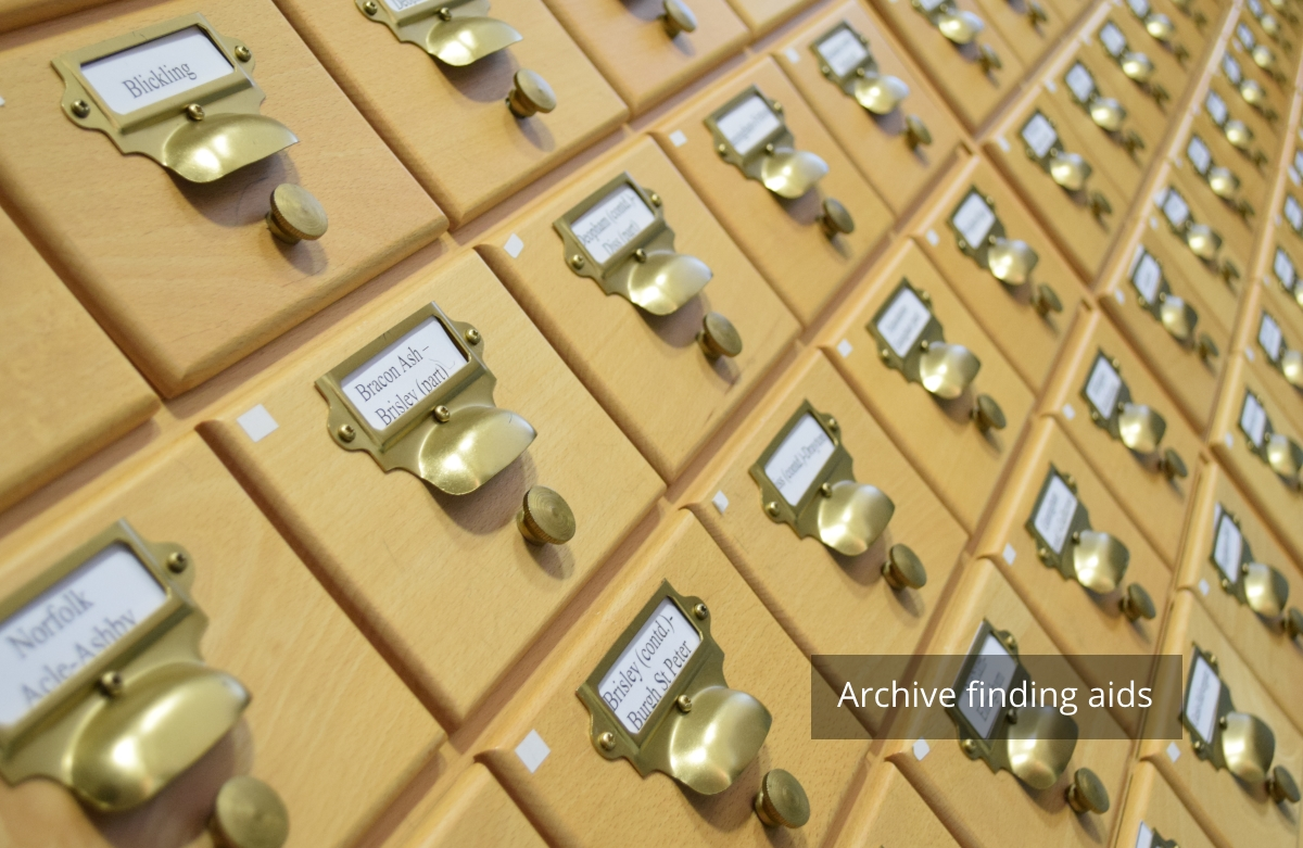 Cataloguing Archives - NORAH