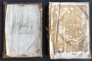 Image showing need for conserving Great Yarmouth's first parish register